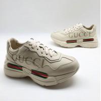 Кроссовки Gucci Rhyton с логотипом