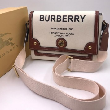 Сумка через плечо Burberry с принтом Note Horseferry