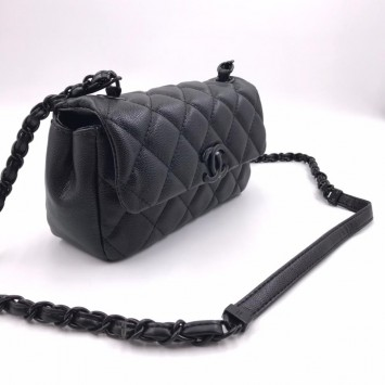 Сумка-конверт Chanel черная