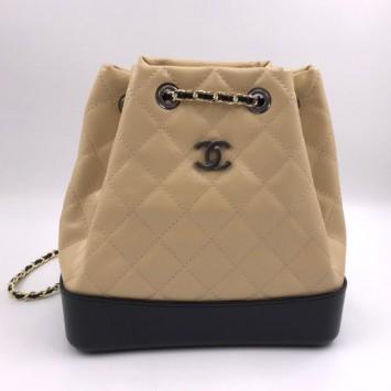 Рюкзак Gabrielle Chanel бежевый