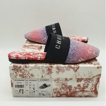 Мюли Dior Диор с закрытым носом розовые