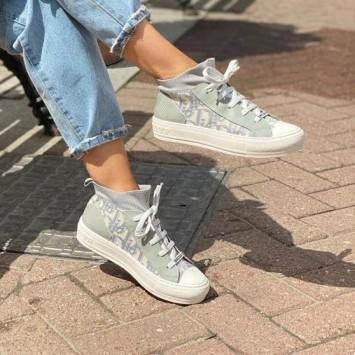 Сникеры Walk'n'Dior Oblique серые