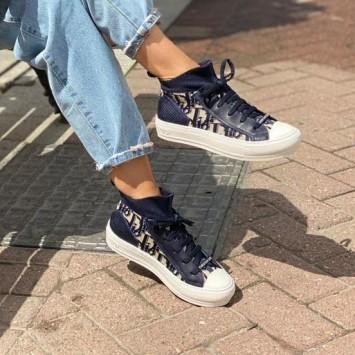 Сникеры Walk'n'Dior Oblique синие