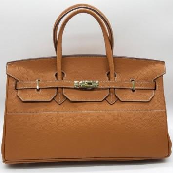 Сумка Hermes Birkin 40 коричневая