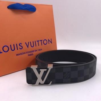 Ремень Louis Vuitton серый