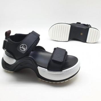 Босоножки Louis Vuitton черные