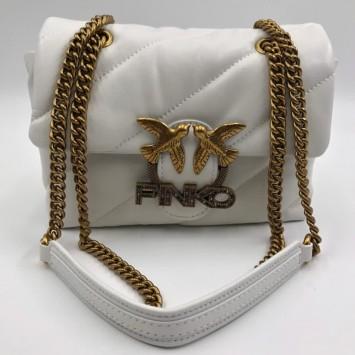 Стеганая сумка через плечо с  логотипом Pinko