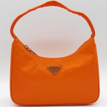 Мини-сумка Re-Edition 2000 из Re-Nylon оранжевая