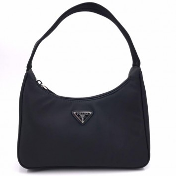 Мини-сумка Re-Edition 2000 из Re-Nylon черная