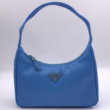 Мини-сумка Re-Edition 2000 из Re-Nylon синяя
