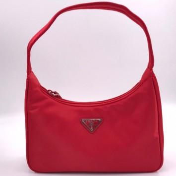 Мини-сумка Re-Edition 2000 из Re-Nylon красная