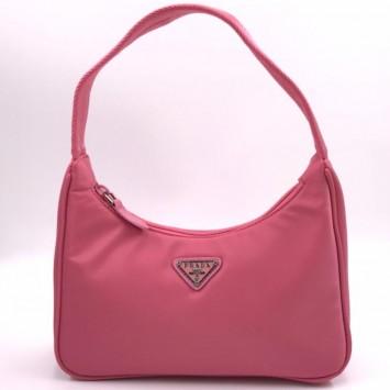 Мини-сумка Re-Edition 2000 из Re-Nylon светло-розовая