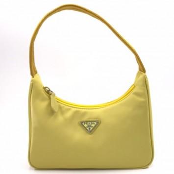 Мини-сумка Re-Edition 2000 из Re-Nylon желтая