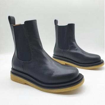 Ботинки кожаные BOTTEGA VENETA