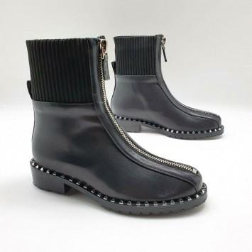 Ботинки кожаные Valentino