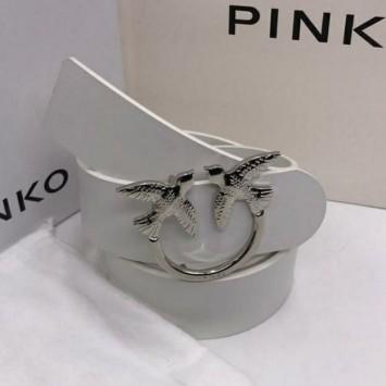 Ремень Prada с серебристой пряжкой
