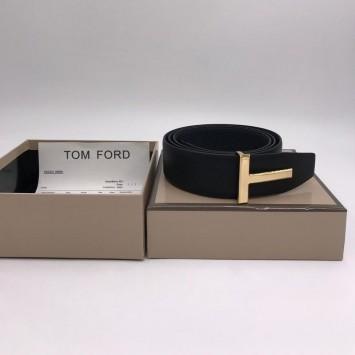Ремень Tom Ford с логотипом на пряжке