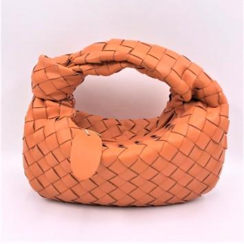Сумка-мини Bottega Veneta Jodie с плетением Intrecciato