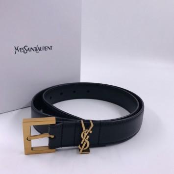 Ремень Yves Saint Laurent кожаный