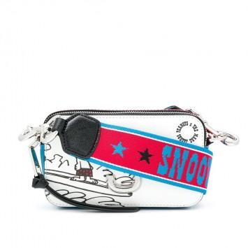 Сумка The Snapshot Marc Jacobs Snoopy с красным ремнем