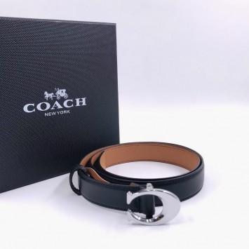 Ремень Coach кожаный