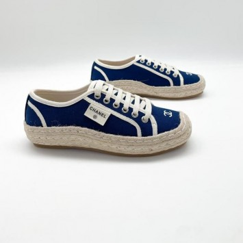 Кеды  CHANEL синие