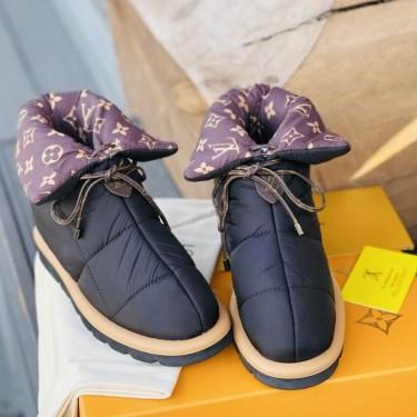 Ботинки Louis Vuitton Pillow на плоской подошве
