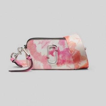Сумка The Snapshot Marc Jacobs бело-розовая