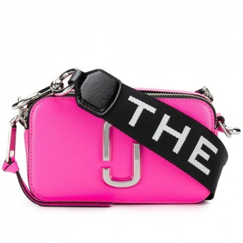 Сумка The Snapshot Marc Jacobs ярко-розовая