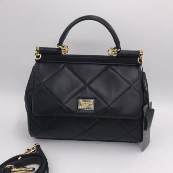 Сумка Dolce Gabbana Sicily medium черный