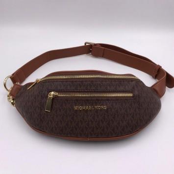 Поясная сумка MICHAEL MICHAEL KORS  Mott коричневая