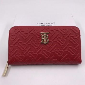 Кошелек Burberry красный