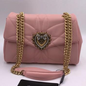 Сумка Dolce&Gabbana Devotion розовая