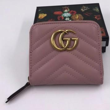 Кошелек Gucci розовый